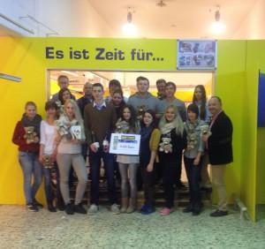 Social eatworking Aktion der Schule Breitschaft Regensburg