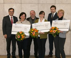 Kombinierte Spenden-Beratungsaktion der Volksbank